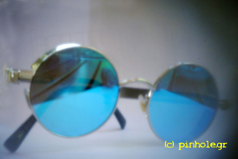 The Cyan Glasses