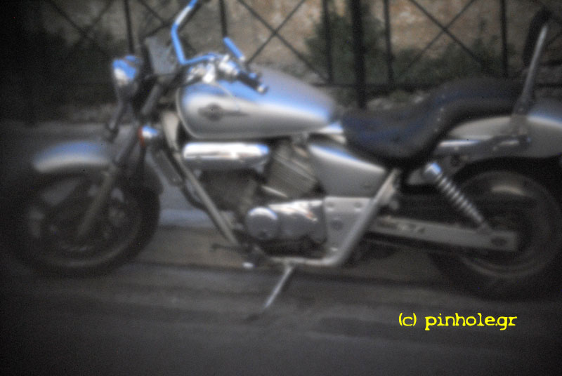 The Silver motorbike (076)