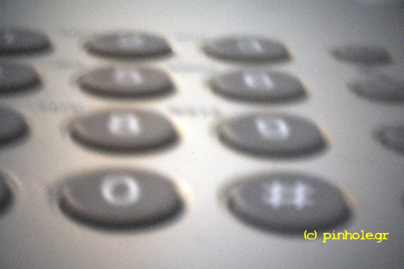 The phone keyboard (218)