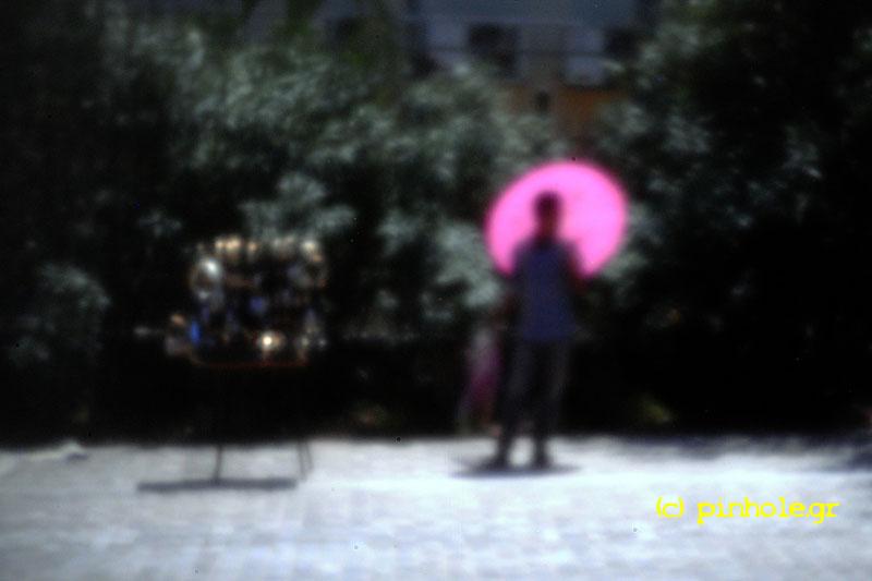 Pink umbrella (223)