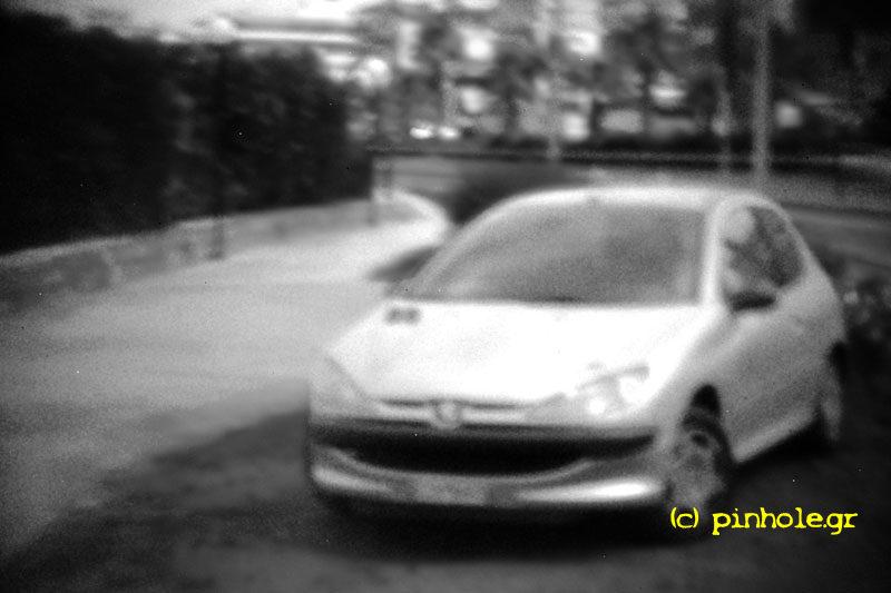 Silver car (239)