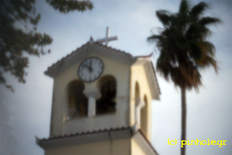 The belfry with clock (344)